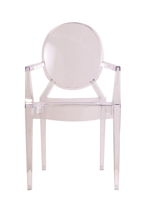 Clear Arm Chair Design Ideas Clear Louis Style Acrylic Arm Chair Clear