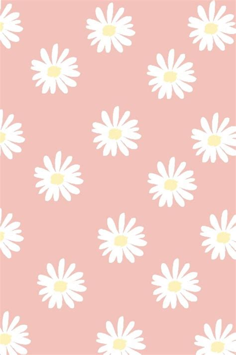 daisy pattern tumblr cute wallpaper phone makeover pinterest daisies