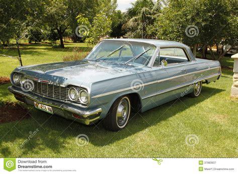 vintage car  chevrolet impala coupe editorial