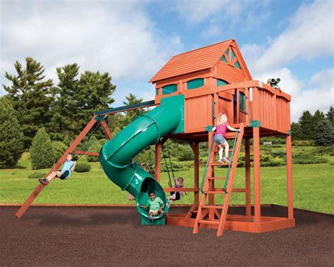 Jumbo Backyard Titan Treehouse Jumbo 3 Backyard Structurestexas