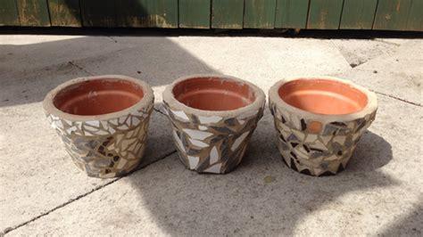 vasi plastica economici crea degli economici vasi in mosaico fai da te creazioni