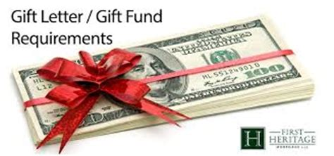 Fha Loan Gift Letter Requirements 2016 Fha Guidelines On Gift Funds
