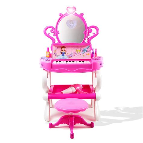 dimple dc11607 princess vanity set with 16