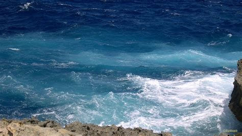 wallpaper blue ocean blue ocean waves barbaras hd wallpapers