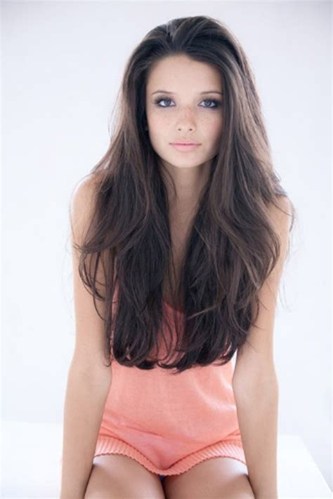 few long layers on thick hair get the look with remy clips clip in extensions add long