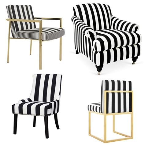 black and white striped recliner friday favorites black and white striped furniture