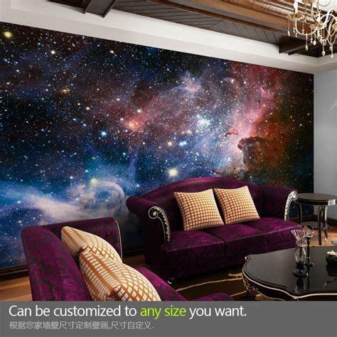 space wallpaper for rooms aliexpress buy mural three dimensional 3d personalized ktv wallpaper ceiling space