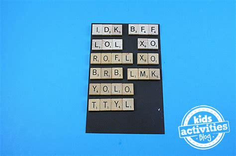 acronyms in scrabble scrabble tile craft acronym magnets