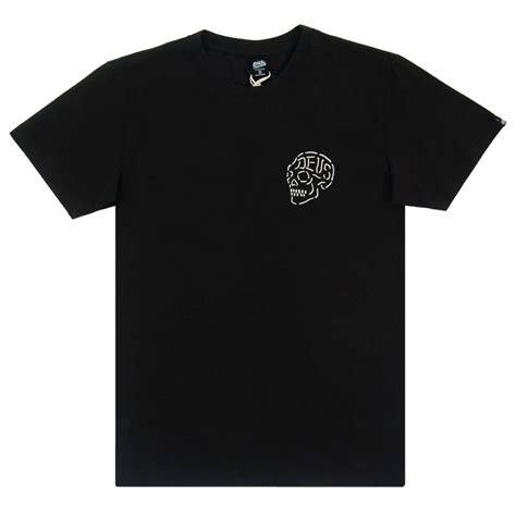 Tshirt Deus Skull deus ex machina venice ca skull t shirt black mens