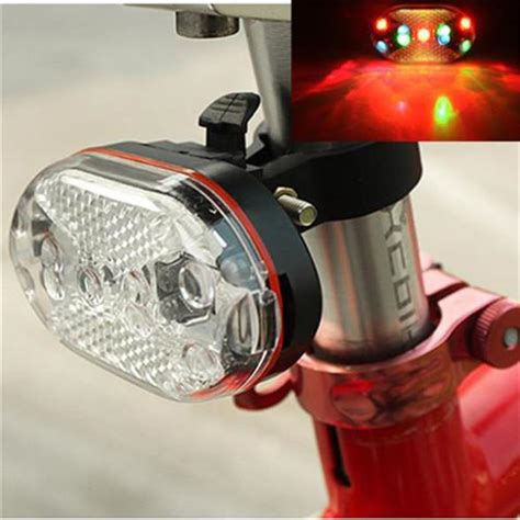 new 9 bright led bicycle light bike accessories