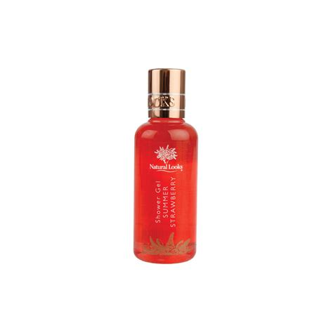 Nature Soap Shower Gel Strawberry strawberry shower gel 100ml looks