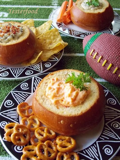 yesterfood individual bread bowl appetizers