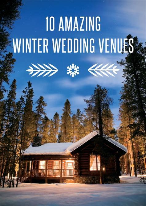 25  best ideas about Winter wedding venue on Pinterest