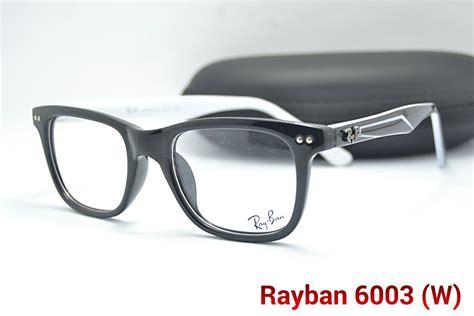 Frame Kacamata Pria 8890y 4 jual frame kacamata rayban 6003 casual pria wanita
