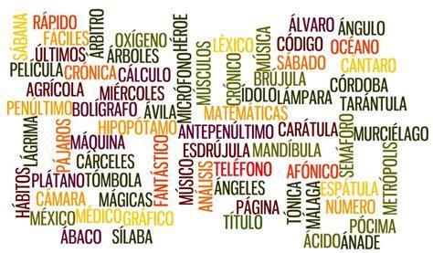 imagenes de palabras agudas con tilde palabras graves agudas esdrujulas y 100 ejemplos con su