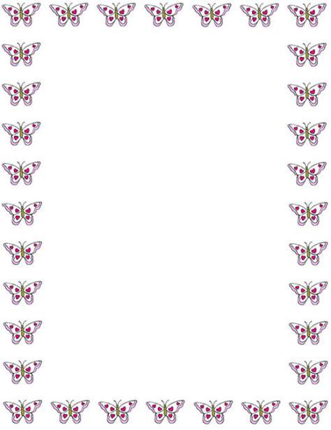 html imagenes borde bordes decorativos bordes decorativos de mariposas para