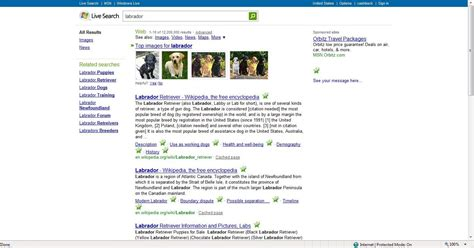 Live Search For Some Users Get Kumo Layout In Live Search Ars Technica
