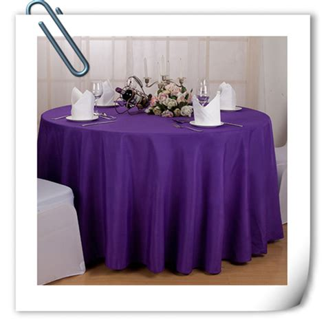 Table Cloths Factory by Factory Price Wholesale Cheap Polyester 70inch Table