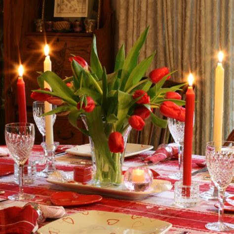 valentine s day table valentine s day table setting with flowers creative ads