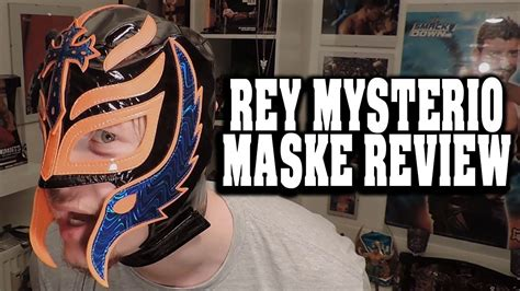How To Make A Mysterio Mask Out Of Paper - mysterio replica maske review wrestlemania mask