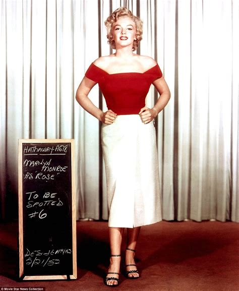 Marilyn Wardrobe by And Places Golden Age Of The Holywood 100 Years Ago