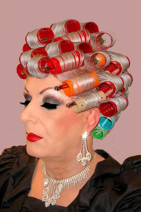 hair rollers sissy pin by blond bouffant on denise pinterest salons