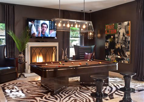 pool room decor pool room contemporary den library office jeff