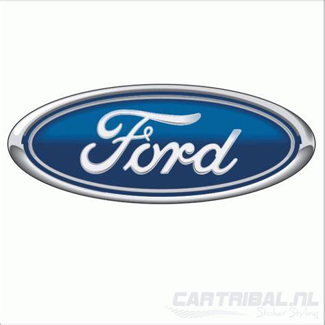 Ford Schriftzug Aufkleber by Ford Logo Sticker2