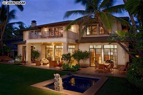 beachfront home for sale casa on 3 wailea homes she would
