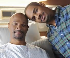 damon wayans with son damon wayans talks about his son s happy endings his cbs