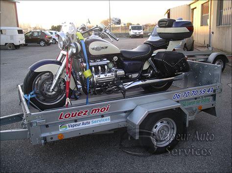 Porte Moto Voiture by Location Remorques Porte Moto Porte Voiture Plateau