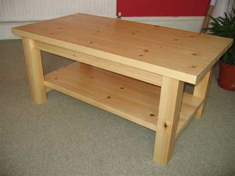 pine coffee table plans plans diy free simple