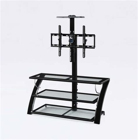 whalen tv stand with swinging mount whalen 3 in 1 tv stand walmart ca