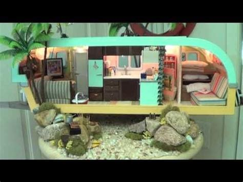 dollhouse trailer travel trailers dollhouse miniatures and trailers on