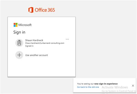 Office 365 New Sign In Experience New Microsoft Office 365 Sign In Experience Thatlazyadmin