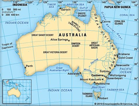 australia map location australia map latitude and longitude lines