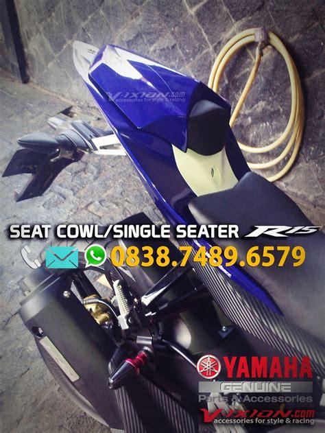 Single Seat R15 New Vva seat cowl single seater r15 genuine part vixionshop