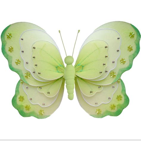 butterfly decorations butterfly decoration green white ceiling bathroom nursery