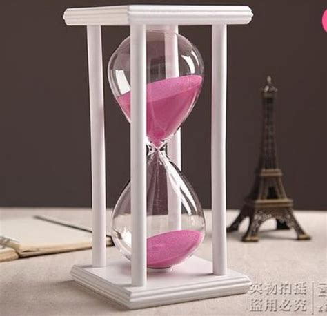 Hourglass Decor by Colors 30 60min Wooden Sand Sandglass Hourglass Timer