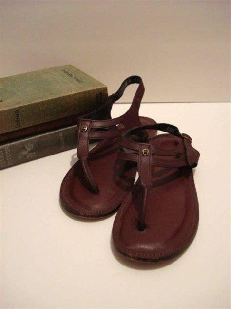 Aigner Delphinium Coulor Fhasion 2 vintage etienne aigner sandals burgundy color with a