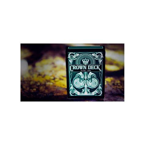 Crown Deck Green Card crown deck green v2 cartes cards cartes magie