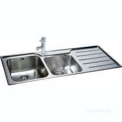 Carron trade sinks isis deep square double bowl kitchen sink with