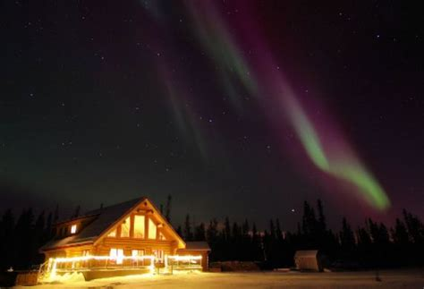 northern lights resort and spa winter aktivreise kanada northern lights mushing tour