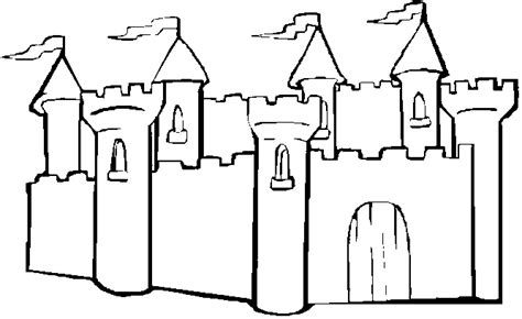 Castle Coloring Picture Free Printable Coloring Pictures Castle Coloring Pages To Print