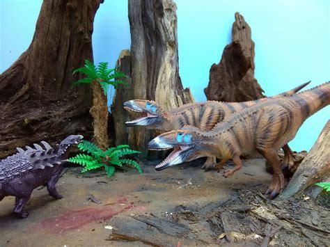 printable dinosaur diorama background model dinosaur diorama scene featuring papo polacanthus