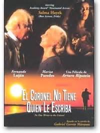 el coronel no tiene 8497592352 el coronel no tienen quien le escriba dvd espanol espaol cine latino hispano board s america