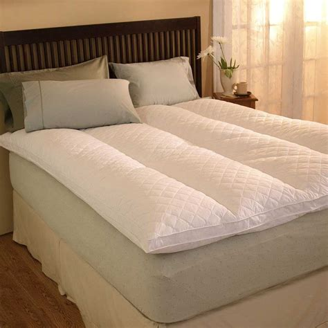 king size feather bed pacific coast 174 euro rest 174 feather bed california king