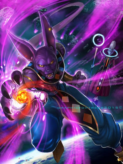 dragon ball z beerus wallpaper god of destruction beerus by graphicfortress on deviantart