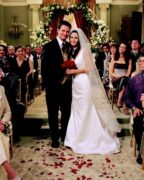 Wedding Friends by Best Chandler Moment Poll Results Friends Fanpop