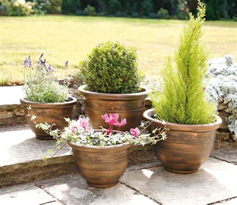 piante da vaso per esterni vasi da esterno in resina vasi per piante